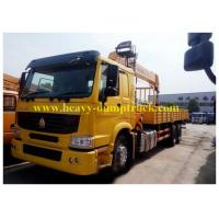 Wholesale 25 tons truck mounted crane 6X4 ZF 8098 hydraulic steering with power assistance from china suppliers