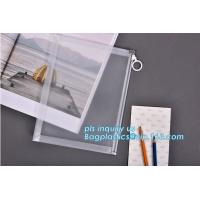 Wholesale Custom transparent pp slider bag with air hole, writable zip lock bags with white panel, slider bags with zipper lock from china suppliers