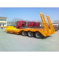 Wholesale Gooseneck Low Bed Semi Trailer With Air Ladder , Lowbed Semi Trailer from china suppliers