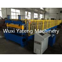 Wholesale 8 - 15m / Min Speed Metal Floor Deck Roll Forming Machine Automatic Hydraulic Cutter from china suppliers
