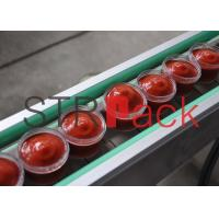 Wholesale Automatic Ketchup Filling Machine , Piston Filling Machine with PLC Contorl from china suppliers