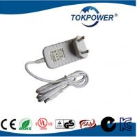 Wholesale EU PLUG AC DC Wall Adapter Power Supply , 12v 2a Portable Travel Charger from china suppliers