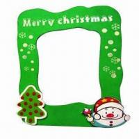 Wholesale Cartoon EVA Photo Frame, Customized Designs, Colors and Sizes are Accepted from china suppliers