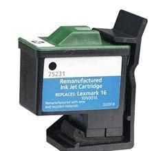 China 16 Ink Cartridge Remanufactured Inkjet Compatible Lexmark on sale