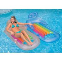 Quality inflatable floating sofa chair, inflatable water bed sofa for sale