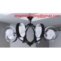 Wholesale 8-Light Hanging Antique White Mini-Chandelier from china suppliers