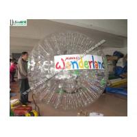 Wholesale Outdoor TPU Inflatable Zorb Balls Roll Inside Inflatable Ball For Entertainment from china suppliers