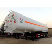 Wholesale 60M3 Oil Transport  Tanker Semi Trailer , Fuel Tank Trailer Heavy Duty 3 Axle 60000L from china suppliers