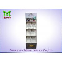 Quality Eye-catching magazines cardboard floor display stands, books cardboard display shelves for sale