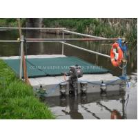 Wholesale Floating pontoon cubes PE Floating platform for boat and jet ski from china suppliers