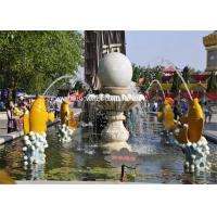 Wholesale Modern Garden Water Fountain Fengshui Ball Hotel Decorative Water Fountains from china suppliers