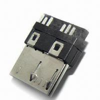Wholesale Micro USB 3.0 Connector, Soldering Type, with 30u-inch Gold Plating from china suppliers