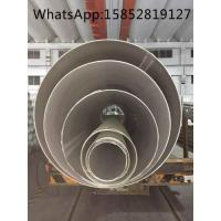 Quality TP317L Welded or Seamless Large Diameter Stainless Steel Pipe ASTM A312 Big Diameter for sale