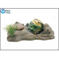 Wholesale Air Operated Pop-top Fish Aquarium Ornaments Poly Resin With Mussel from china suppliers