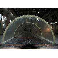 Wholesale Custom large perspex plexiglass acrylic tunnel for oceanarium / Aquariums from china suppliers