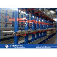 Wholesale Double Arm Cantilever Storage Racks Metal Sheet Stacking With Steel Pallet from china suppliers