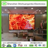 Quality Ultra Thin Indoor LED Display Screen Waterproof, SMD P6 High Resolution Led Screen for sale