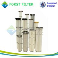 Wholesale FORST Supply Industrial Polyester Pleated Dust Cartridge Pulse Dust Filter Bag from china suppliers