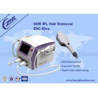 Wholesale Permanent SHR Hair Removal Machine Opt Ipl Technique For Beauty Spa from china suppliers
