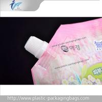 Wholesale Washing Liquid Plastic Stand Up Packaging Bags PET / NY / PE Spout Pouches from china suppliers