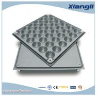 Wholesale FS440 Trunking Bare Steel Raised Access Floor OA Network Flooring from china suppliers