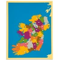 Quality Montessori Materials - Puzzle of Irleand 57*45cm for sale