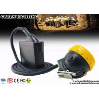 Wholesale 7800mA Rechargeable Mining Cap Lights Corded Style 3 Watt Main LED Power from china suppliers