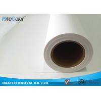Wholesale Water Based Poly Cotton Printable Plotter Canvas , Wall Arts Printing Canvas Rolls from china suppliers