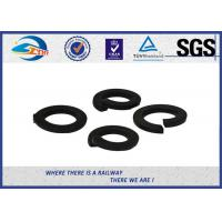 Wholesale 65Mn Black Spring Locking Washer Single Layer And Double Layers For Railroad from china suppliers
