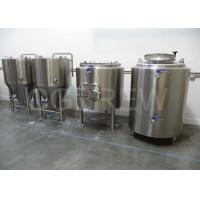 Wholesale 100L New Condition and CE+ISO Certification micro beer equipment from china suppliers