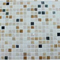 Wholesale Washroom Bathroom Backsplash Tile Square Pattern Marble Stone Mosaics from china suppliers