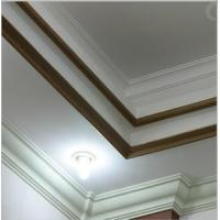 Buy cheap PU plain panel moulding line as belt line on building for interior and exterior use from wholesalers