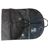 Wholesale Raque Black 75g Unwoven Fabric PVC Cover Suit Garment Bag With  Leather Handle, White Logo from china suppliers