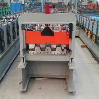 Wholesale Lightweight Concrete Forming Machine 915mm Floor Deck Roll Forming Machine from china suppliers