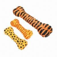 Wholesale Vinyl pet toys, bone shape from china suppliers