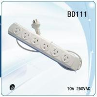 Wholesale Australian overload protection ans surge protection power strip with plug and 6ways socket from china suppliers