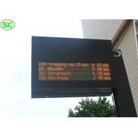 Wholesale High Resolution P10 Red Single Color LED Display Sign , 5 Years Warranty from china suppliers