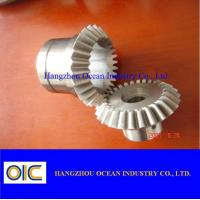 Wholesale Spur spiral bevel Gears and pinions , ring worm helical special gear from china suppliers