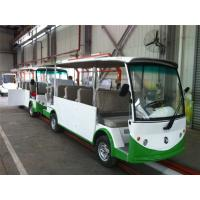 Wholesale 4KW DC Motor Electric Shuttle Bus With Closed Door For Tourist Sightseeing from china suppliers