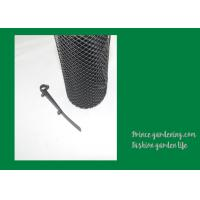 Wholesale Durable Garden Plant Accessories , Black Gutter Guard Mesh 0.16 X 6m from china suppliers