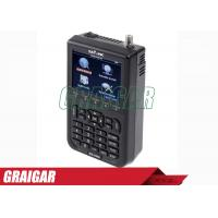 Wholesale WS -6908 3.5 Inch DVB - S FTA Satellite Signal Meter 950mhz - 2150mhz from china suppliers
