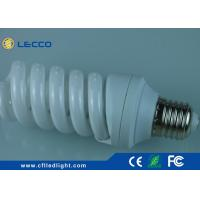 Quality 18 Watt Compact Fluorescent Bulb , Full Spiral Energy Saving Lamp SDCM< 5 for sale