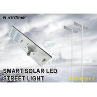 Wholesale High Lumen All In One Solar Street Light With Bridgelux LED Chips Last 7 Rainy Days from china suppliers