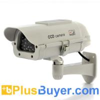 Wholesale Ultra Realistic Dummy Camera with Red Blinking LED - Solar Powered from china suppliers