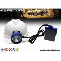 Wholesale Rechargeable LED mining light with PC material , 216lum lighting IP68 waterproof grade from china suppliers