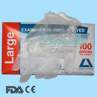 Wholesale Disposable vinyl gloves in health&medical manufacture from china suppliers