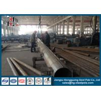 Wholesale Electrical Power Transmission Pole 19m Yeild Stress 235Mpa from china suppliers