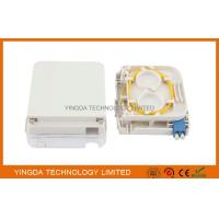 Wholesale FTTH Fiber Optic Terminal Box LC Duplex Connectors With Transparent Cover from china suppliers