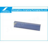 Wholesale Blue Paper Pen Packaging Box , Black Velvet Insert Custom Pen Gift Box from china suppliers