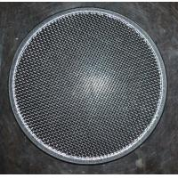 Wholesale 304 Round Stainless Steel Filter Screen , Filter Discs , Edge Treated from china suppliers